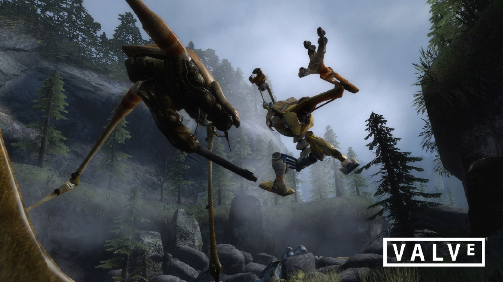 Арт к игре Half-Life 2: Episode Two