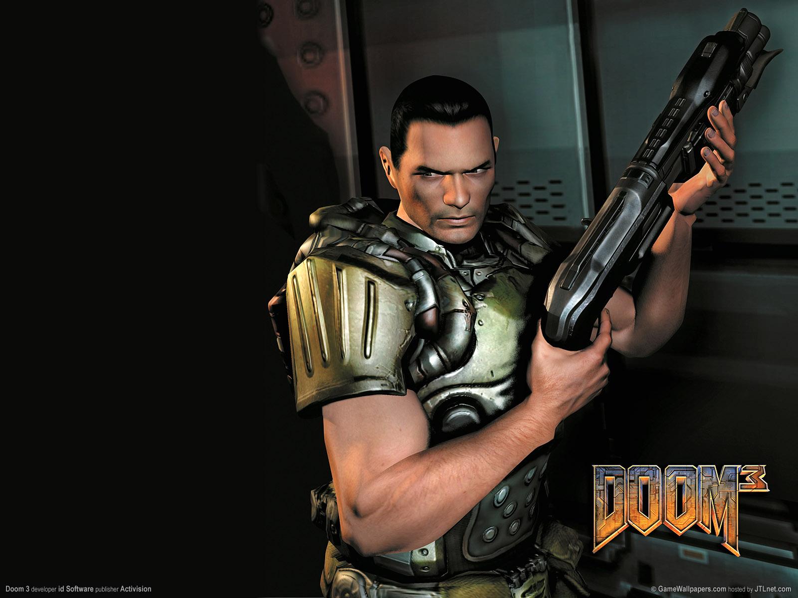 Арт к игре Doom 3