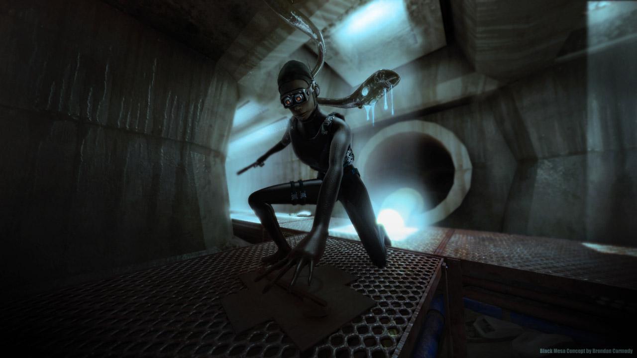 Арт к игре Black Mesa