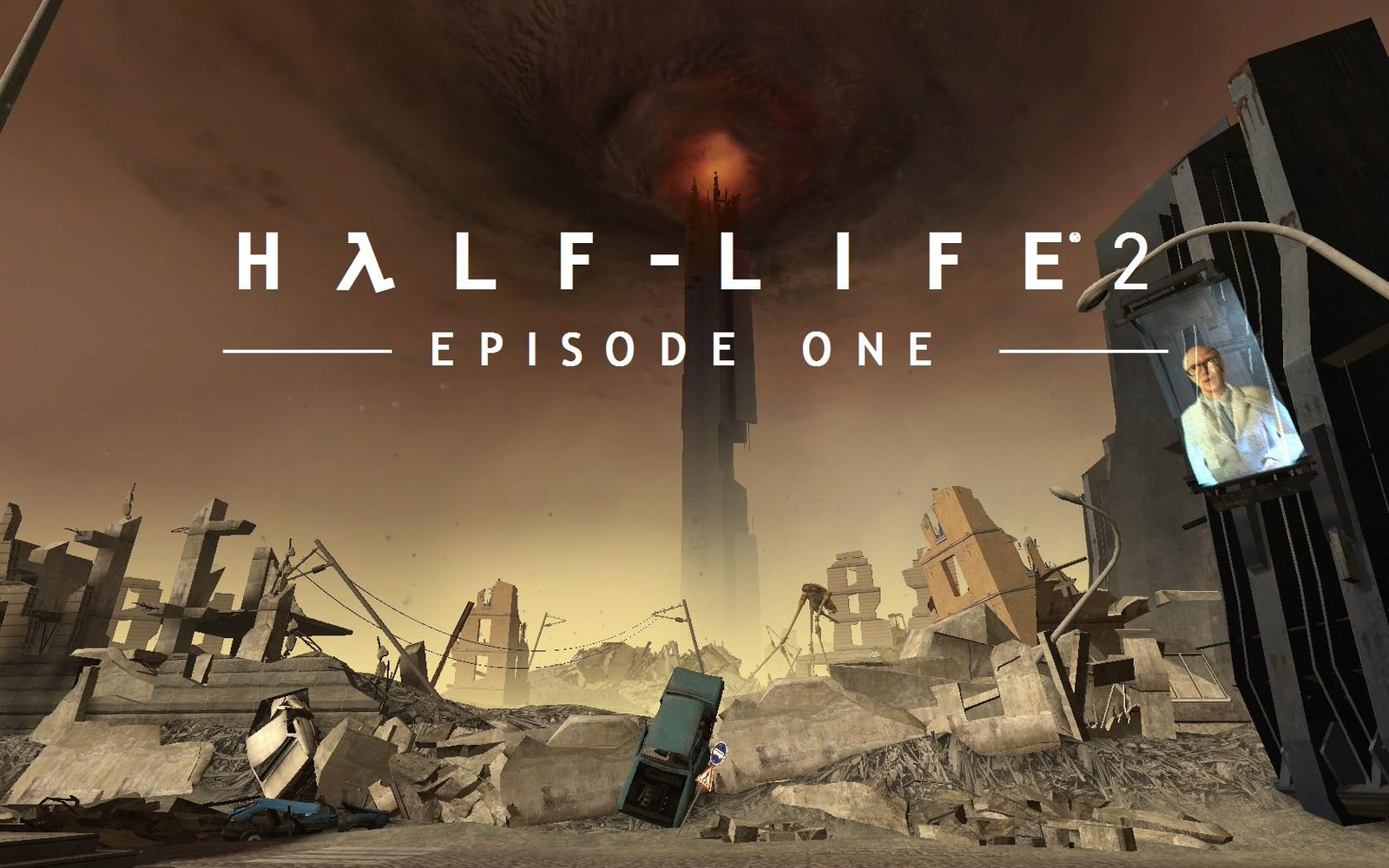 Арт к игре Half-Life 2: Episode One