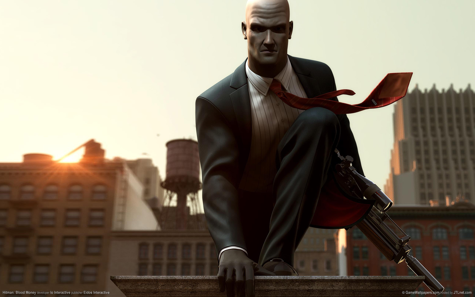 Арт к игре Hitman: Blood Money