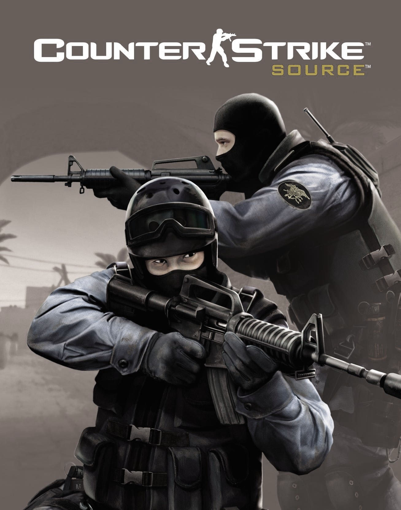 Арт к игре Counter-Strike: Source