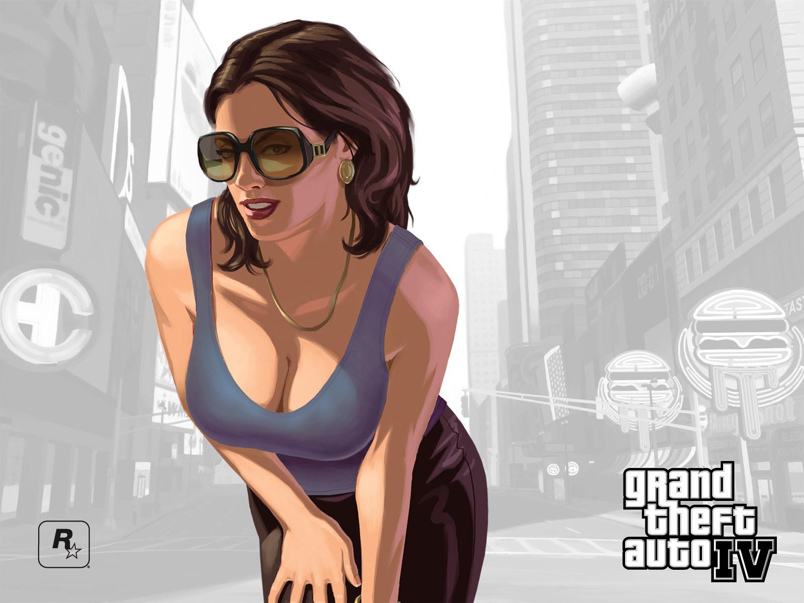 Арт к игре Grand Theft Auto 4