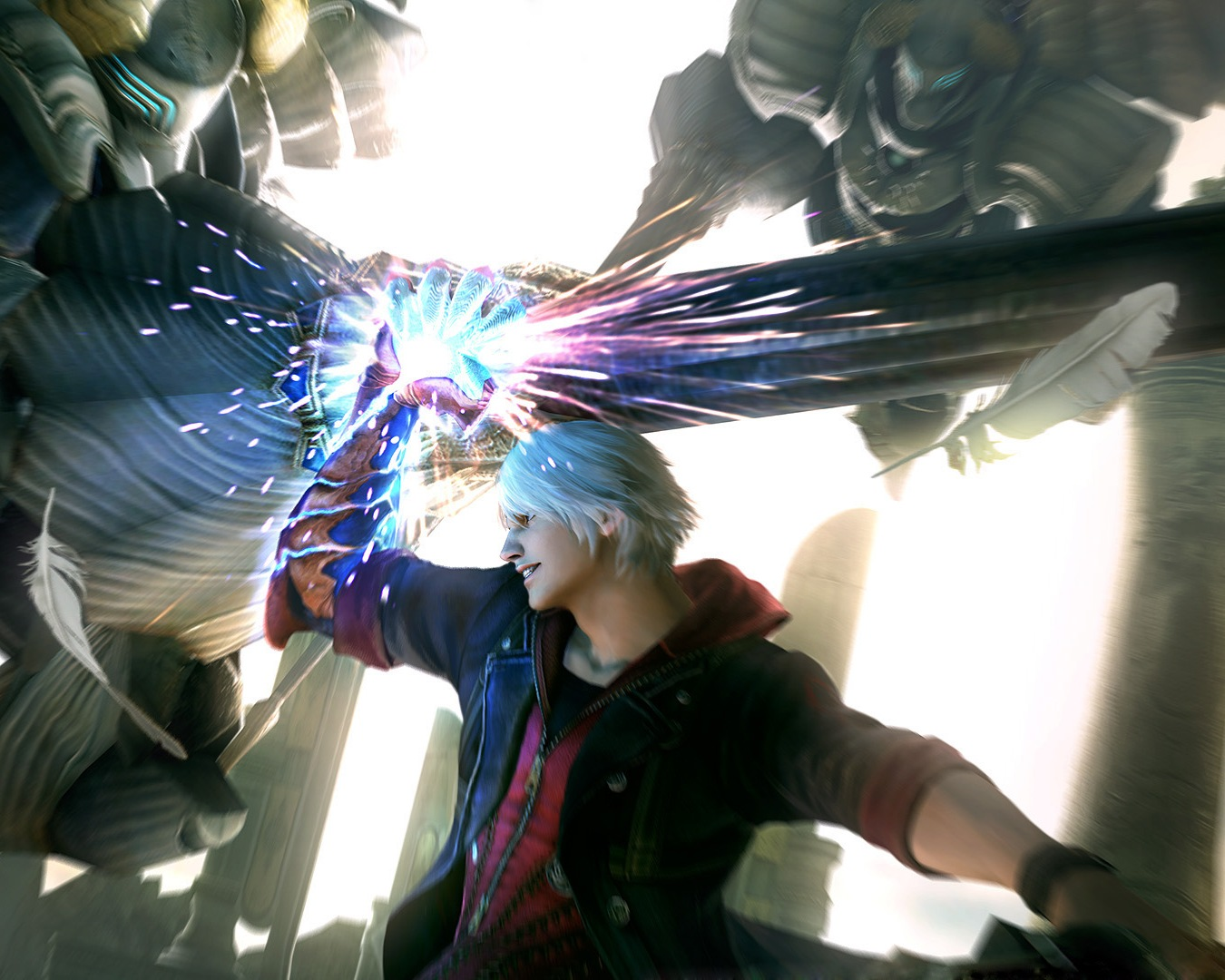 Арт к игре Devil May Cry 4