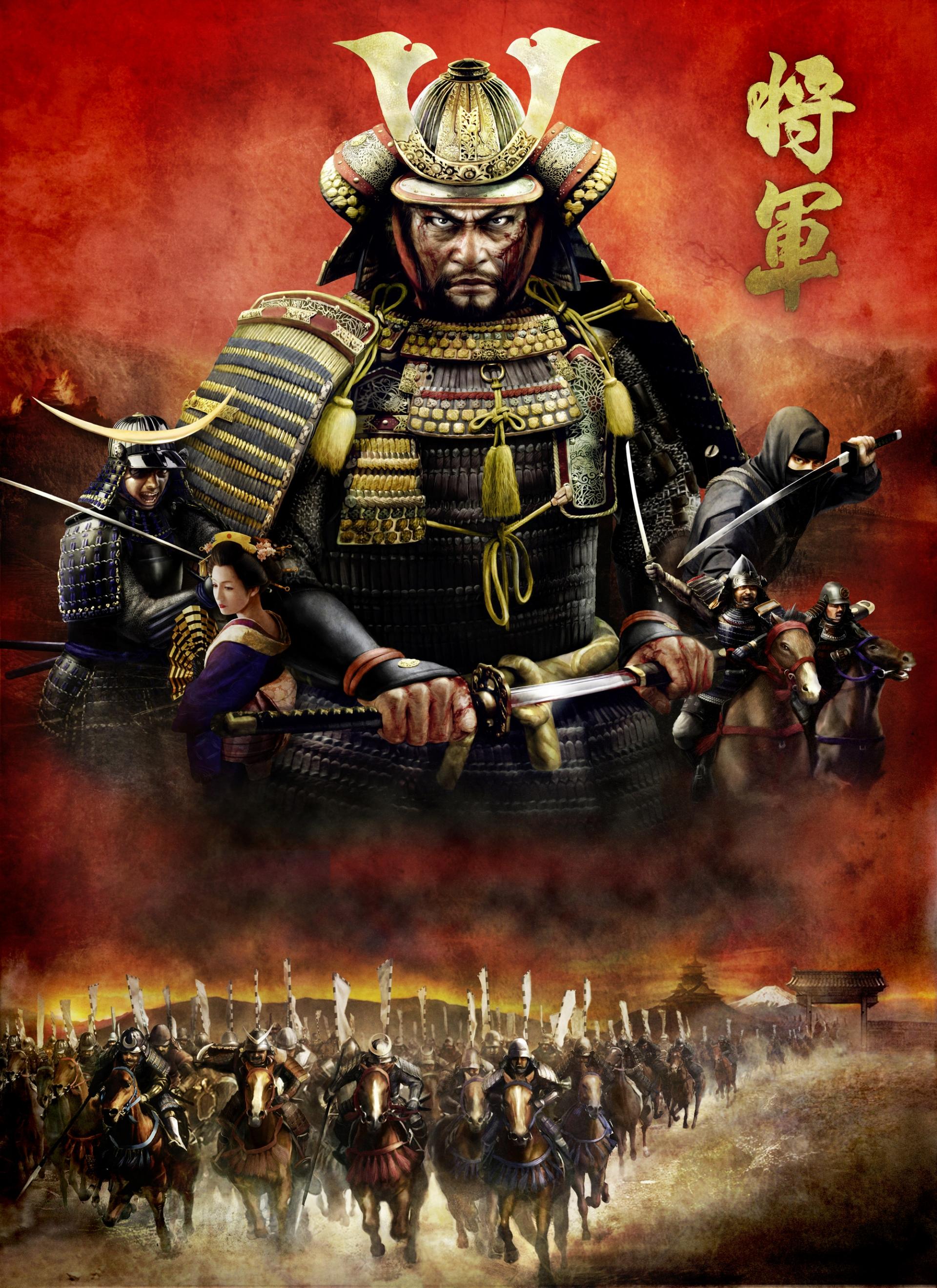 Арт к игре Total War: Shogun 2