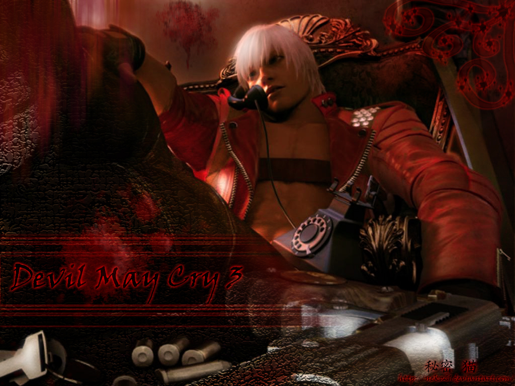 Арт к игре Devil May Cry 3: Dante's Awakening Special Edition