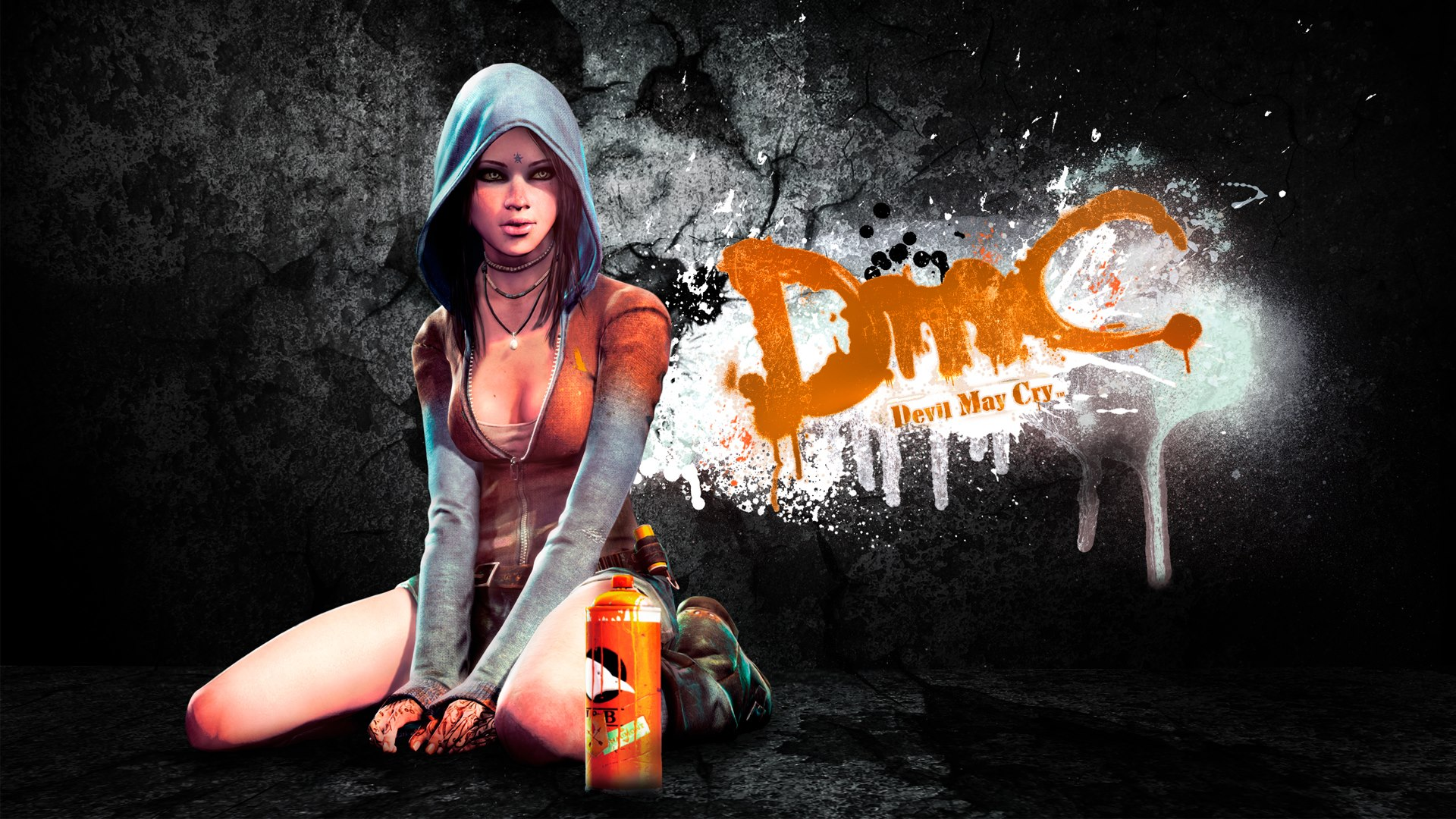 Арт к игре DmC: Devil May Cry