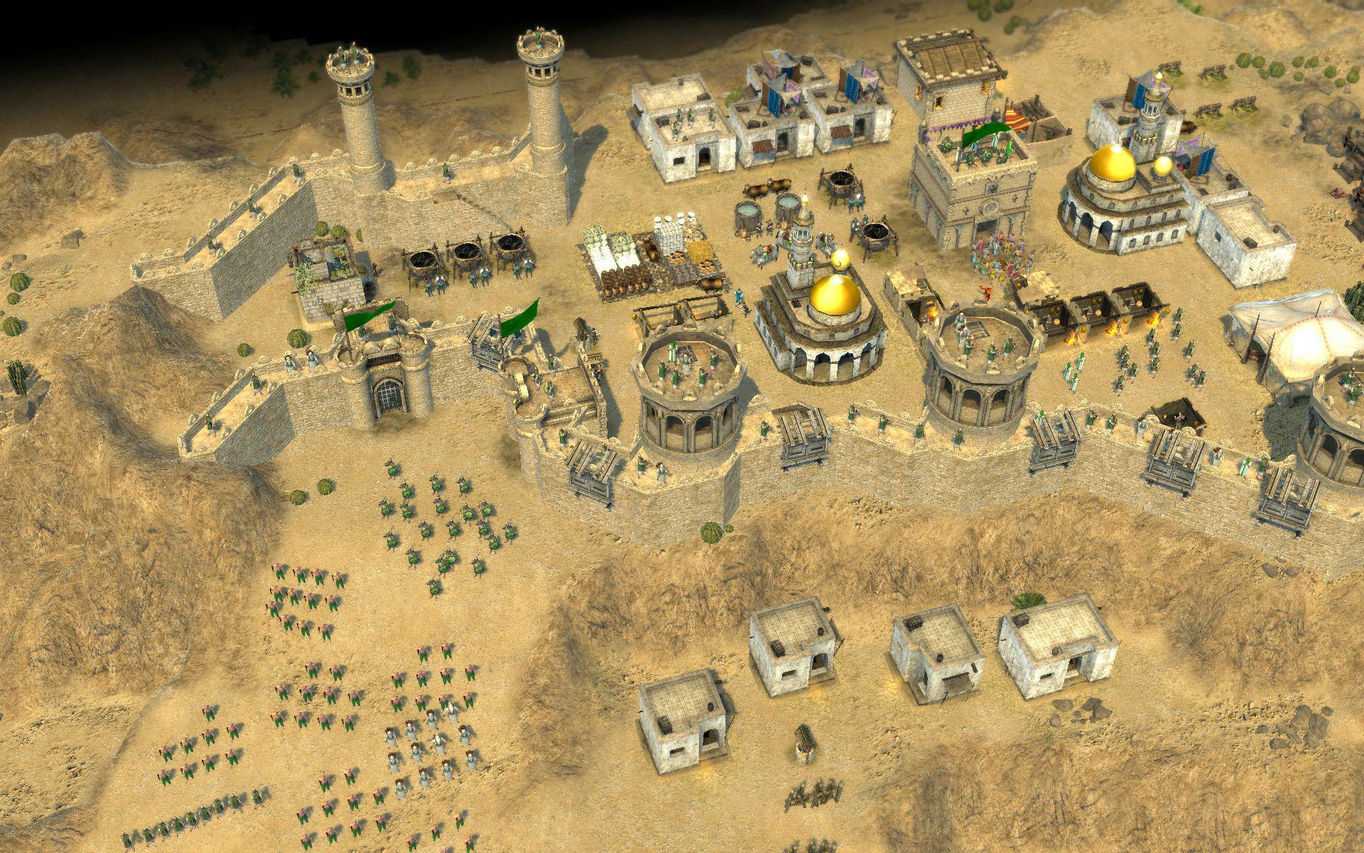 Арт к игре Stronghold: Crusader II