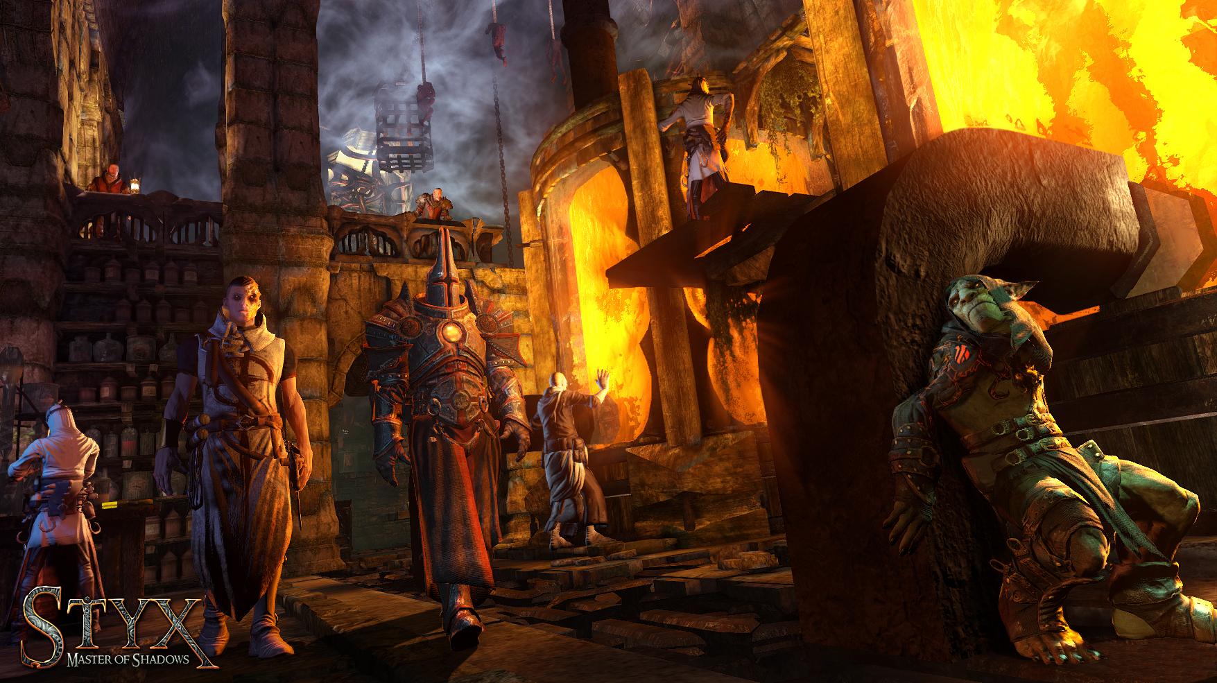 Арт к игре Styx: Master of Shadows