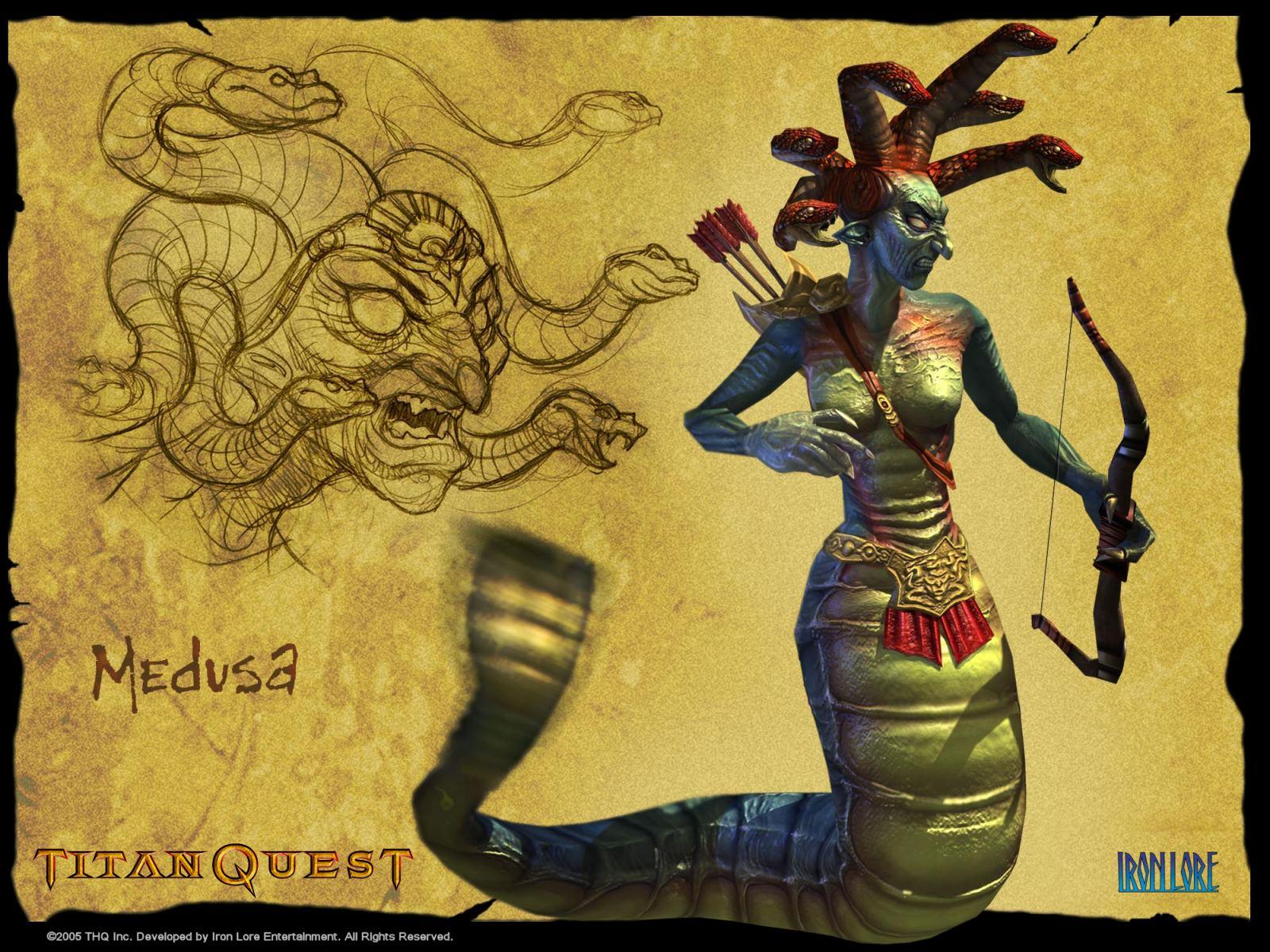 Арт к игре Titan Quest