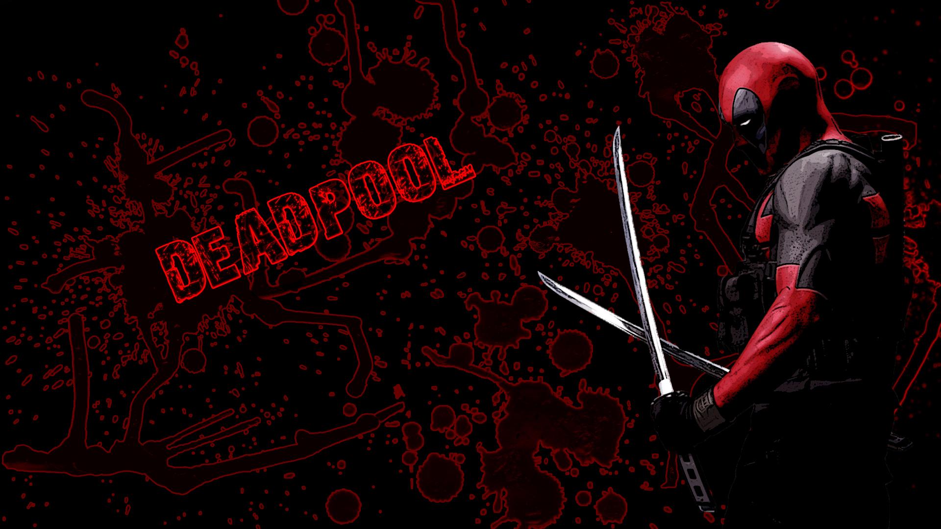Арт к игре Deadpool