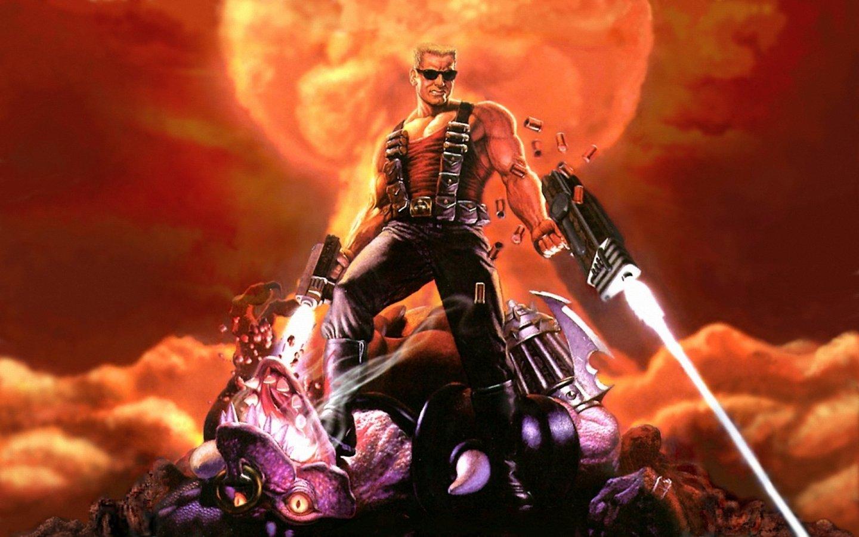 Арт к игре Duke Nukem Forever