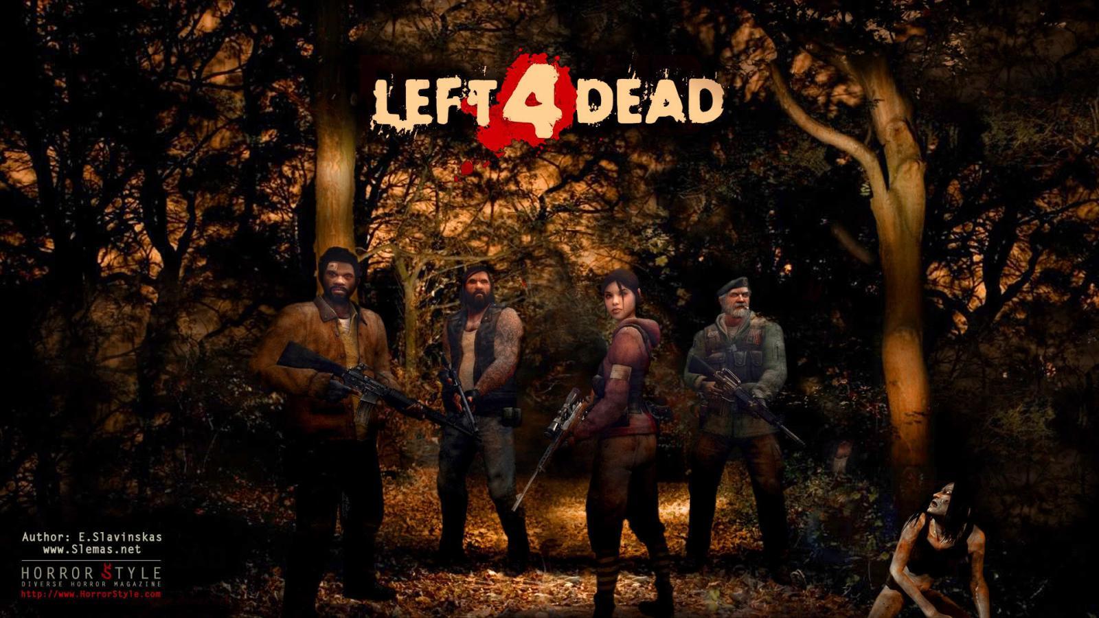 Арт к игре Left 4 Dead