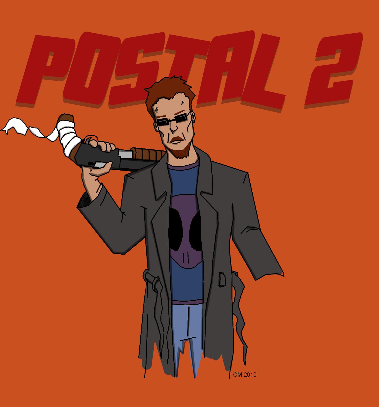 Арт к игре Postal 2