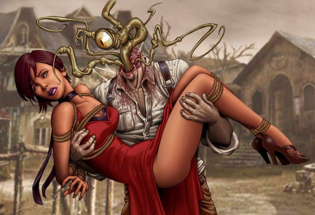 Арт к игре Resident Evil 4