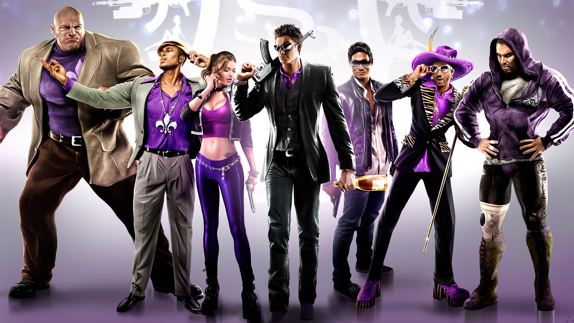 Арт к игре Saints Row 4