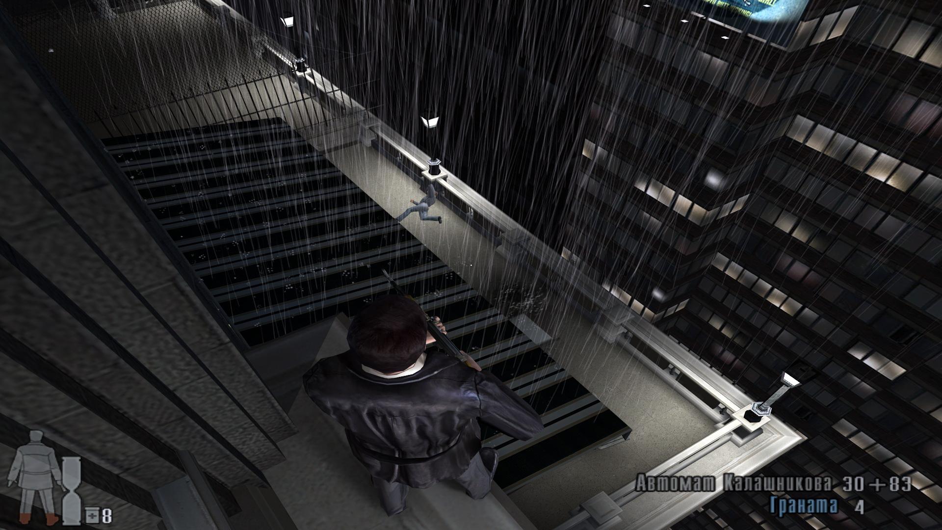 Арт к игре Max Payne 2: The Fall of Max Payne
