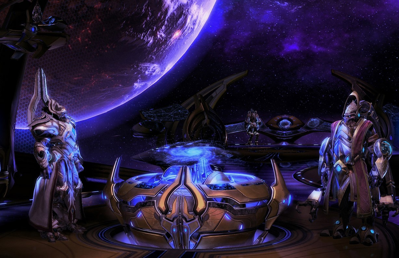 Арт к игре StarCraft II: Legacy Of The Void