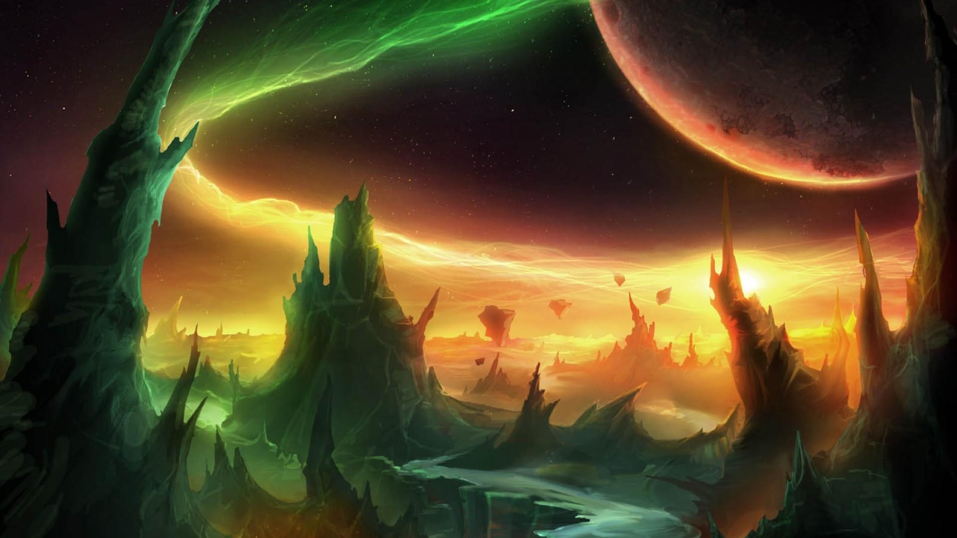 Арт к игре World of Warcraft: Warlords of Draenor