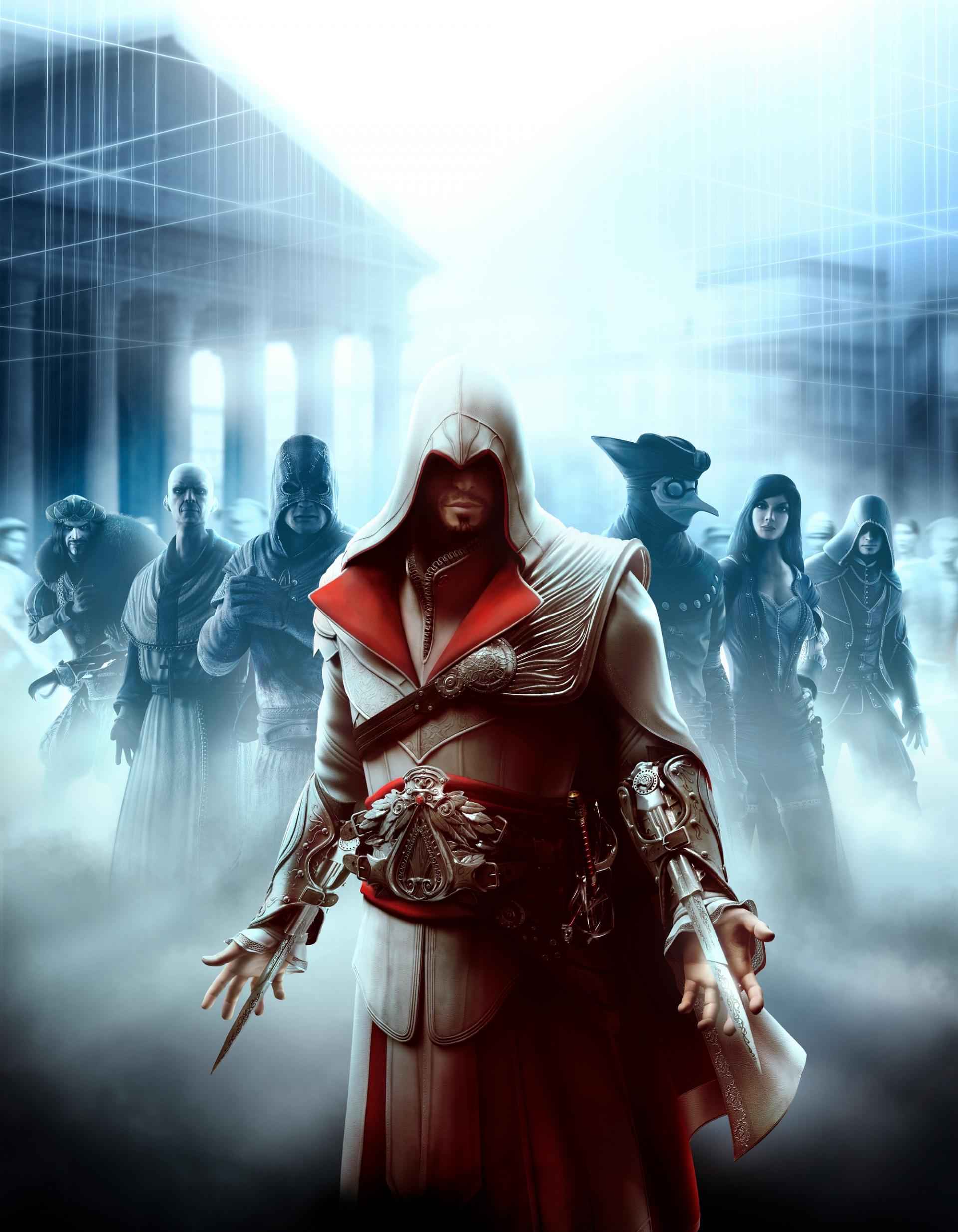 Арт к игре Assassin's Creed: Brotherhood