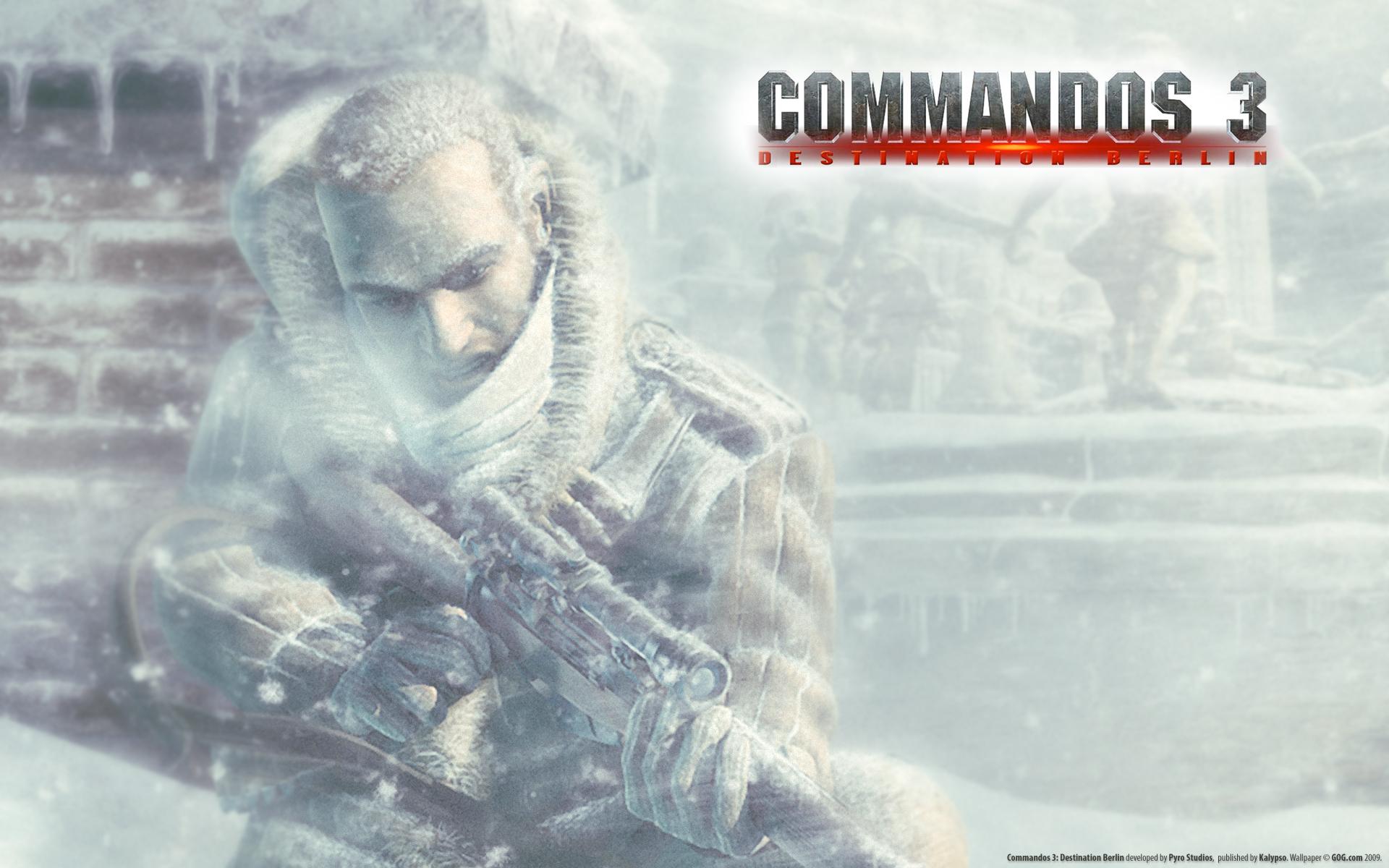 Арт к игре Commandos 3: Destination Berlin