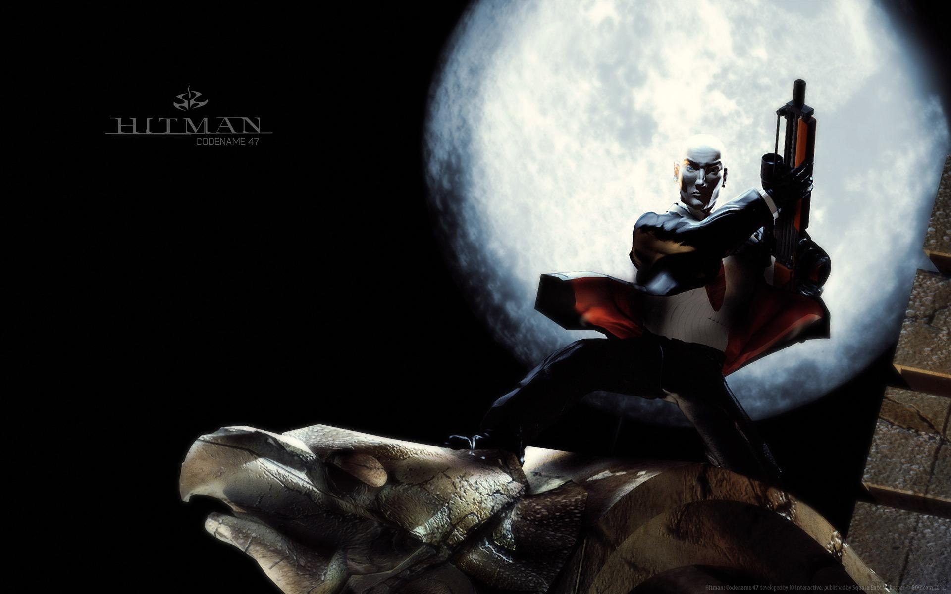 Арт к игре Hitman: Codename 47