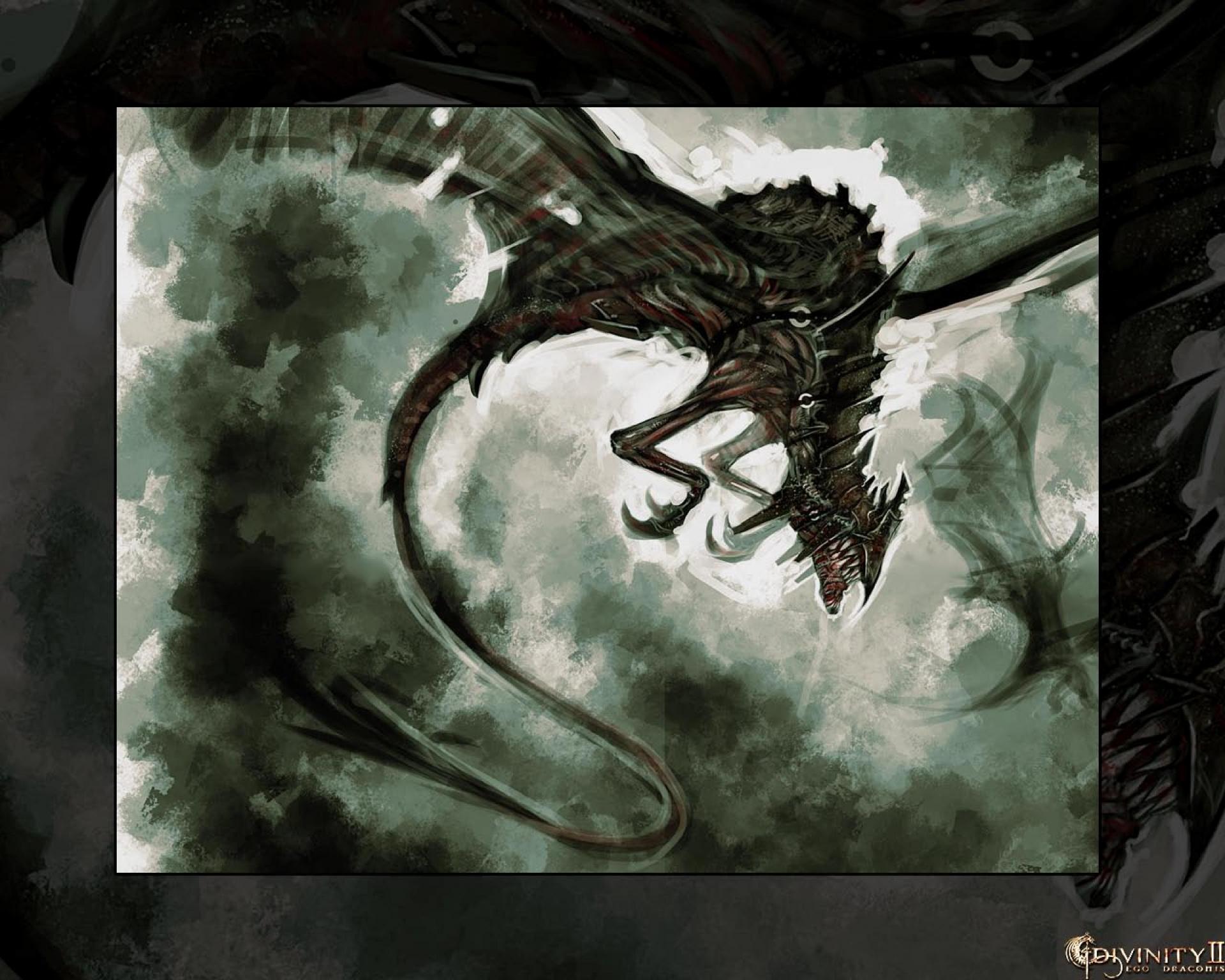 Арт к игре Divinity 2: Ego Draconis