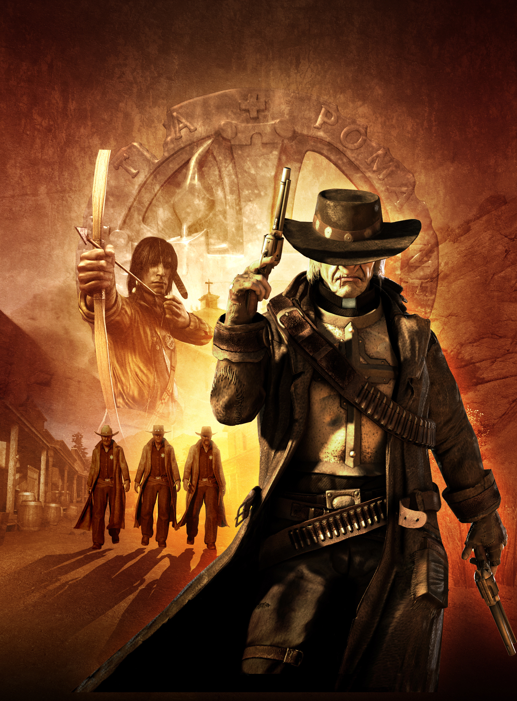 Арт к игре Call of Juarez