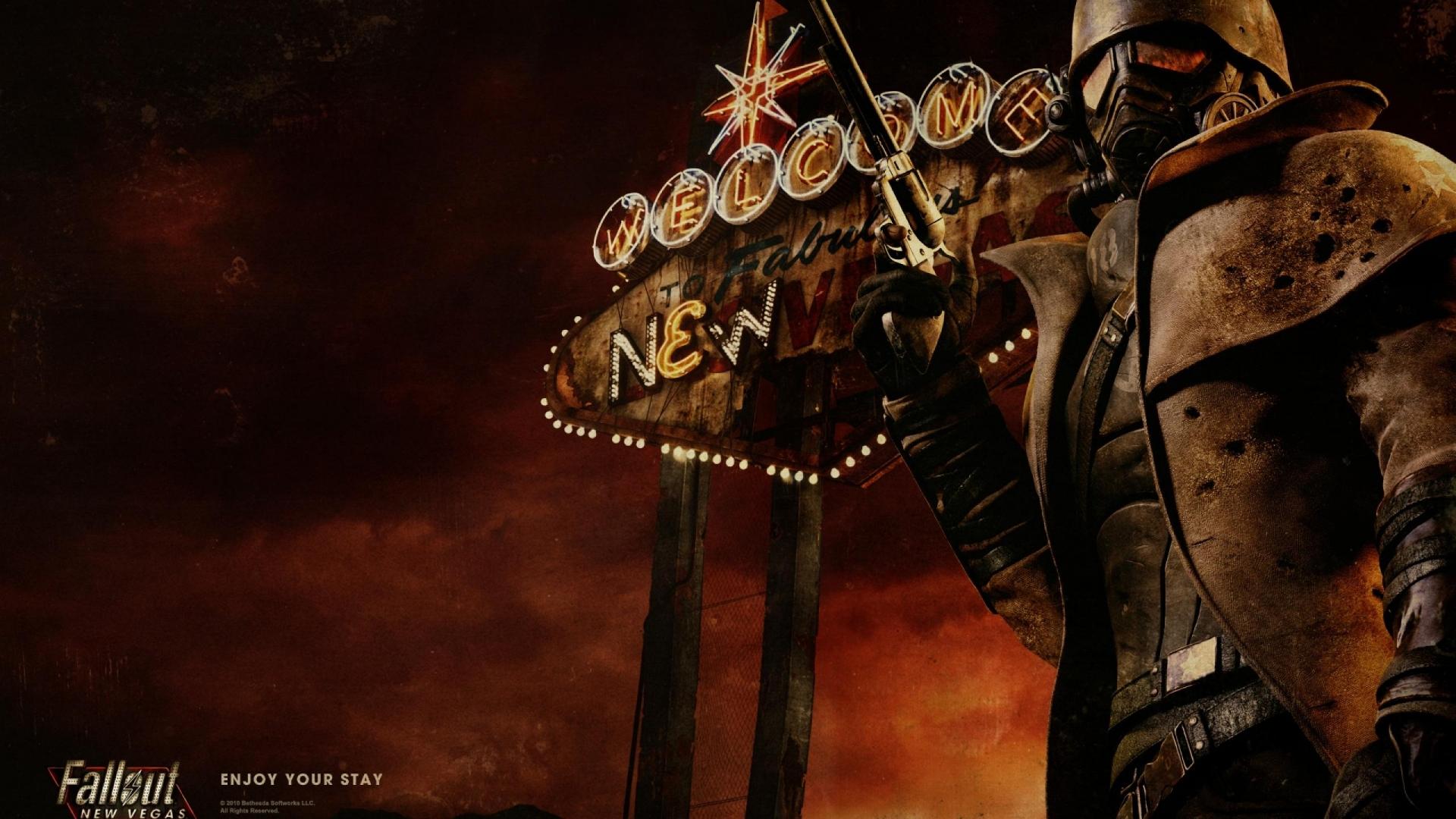 Арт к игре Fallout: New Vegas