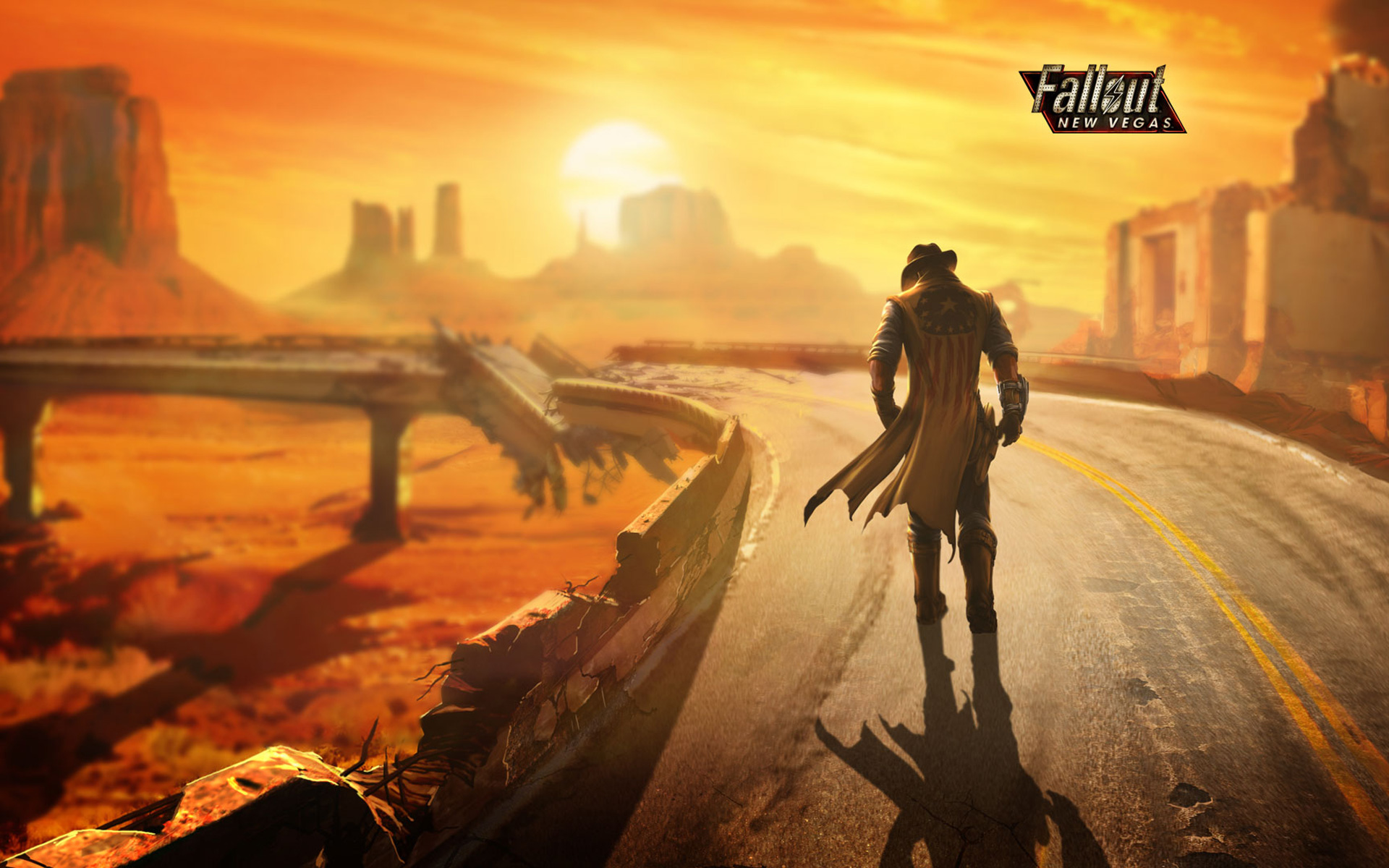 Арт к игре Fallout: New Vegas: Lonesome Road