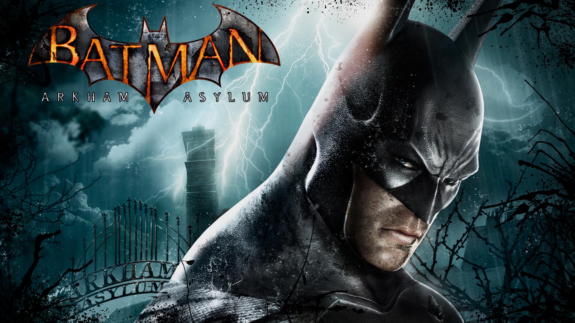 Арт к игре Batman: Arkham Asylum