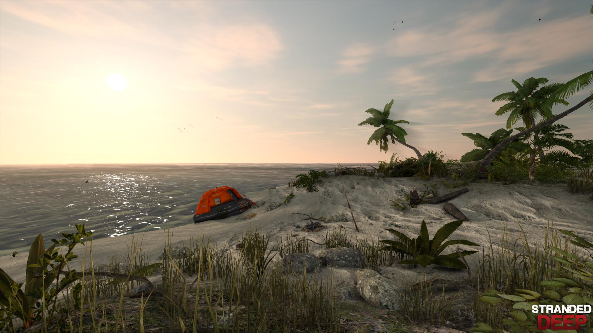 Арт к игре Stranded Deep