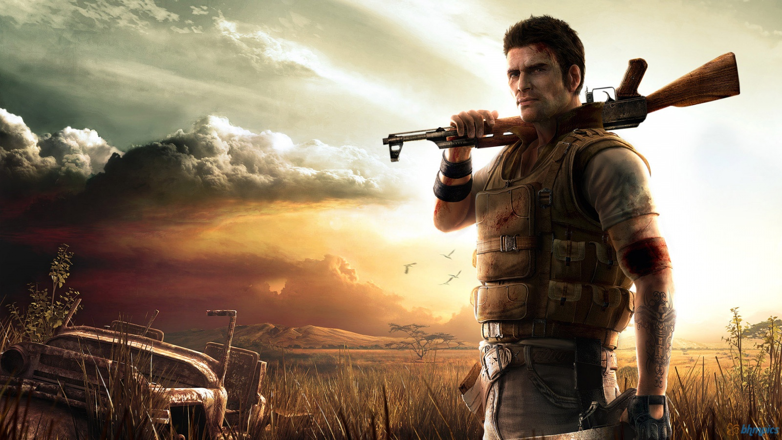 Арт к игре Far Cry 2