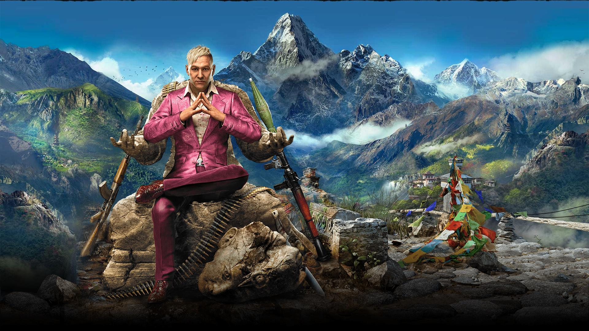 Арт к игре Far Cry 4
