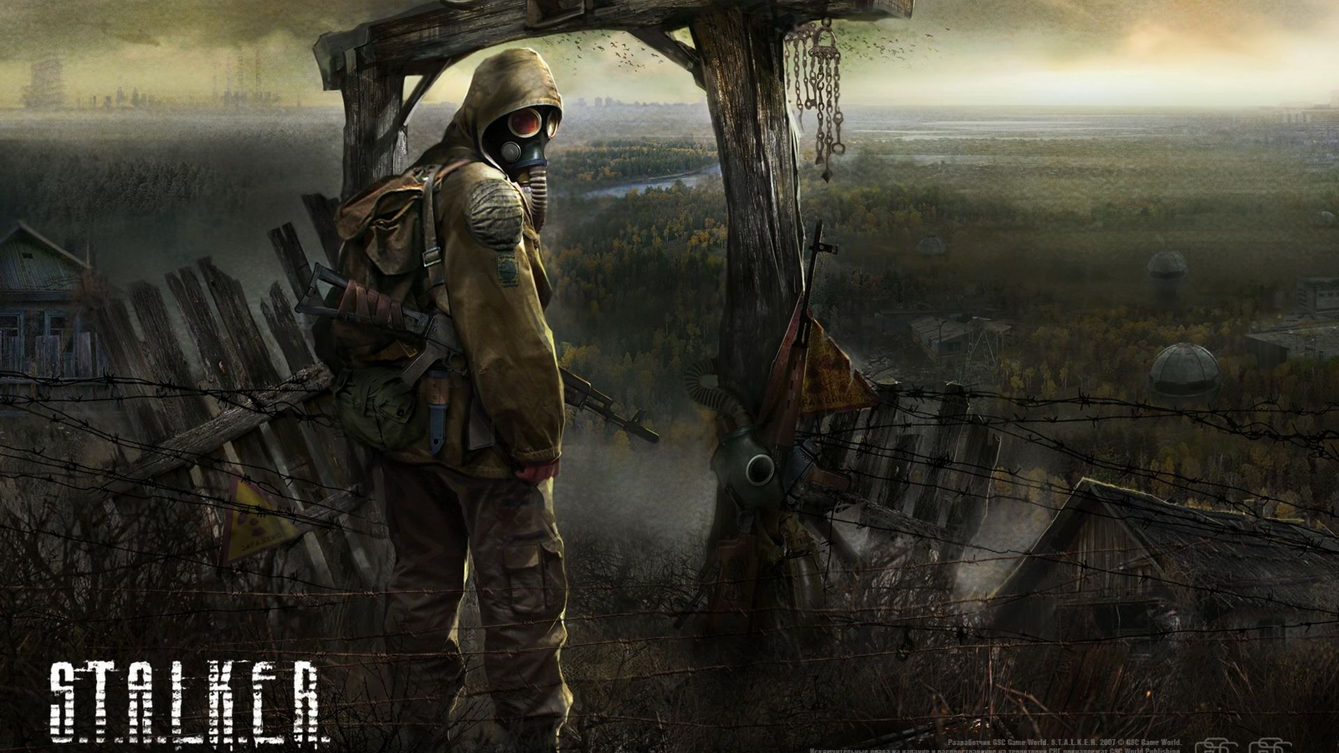 Арт к игре S.T.A.L.K.E.R.: Shadow of Chernobyl