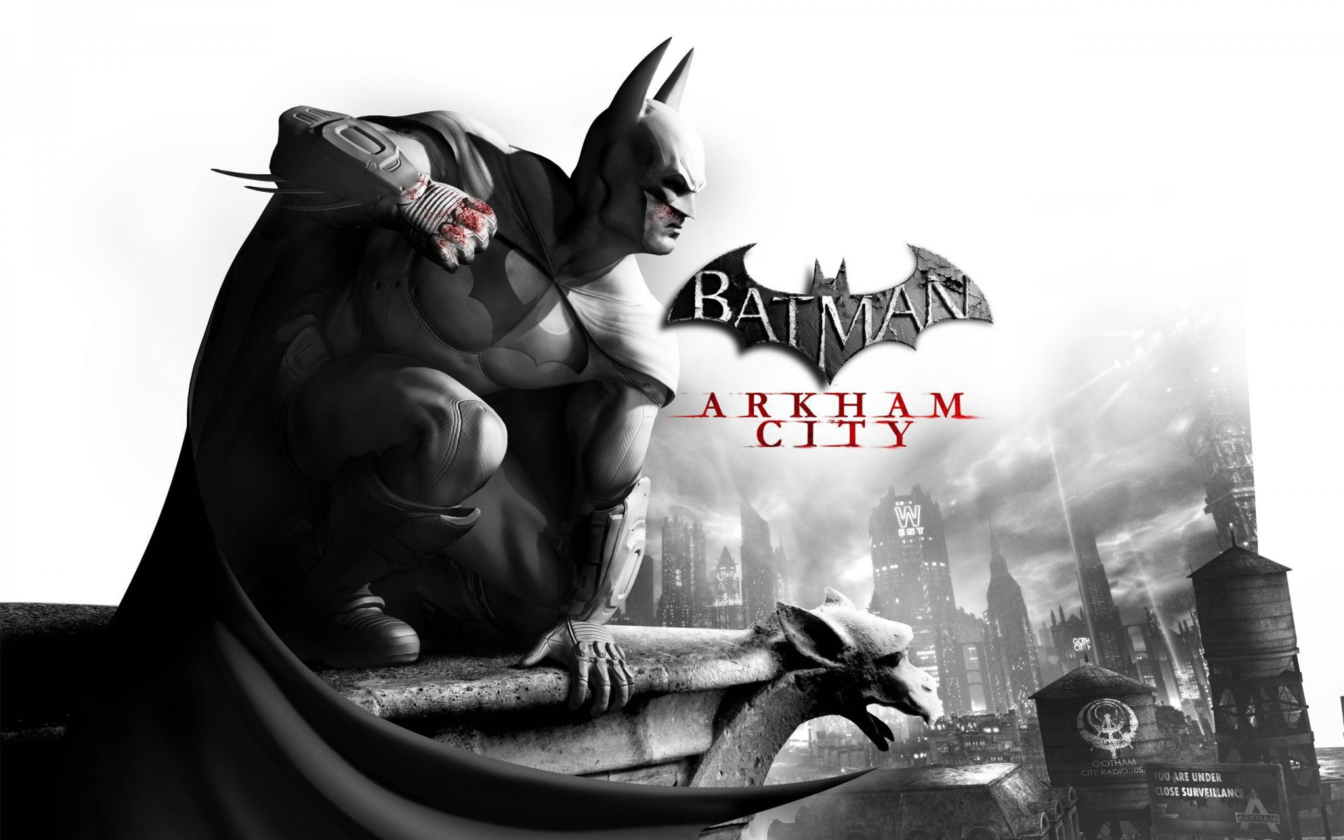 Арт к игре Batman: Arkham City