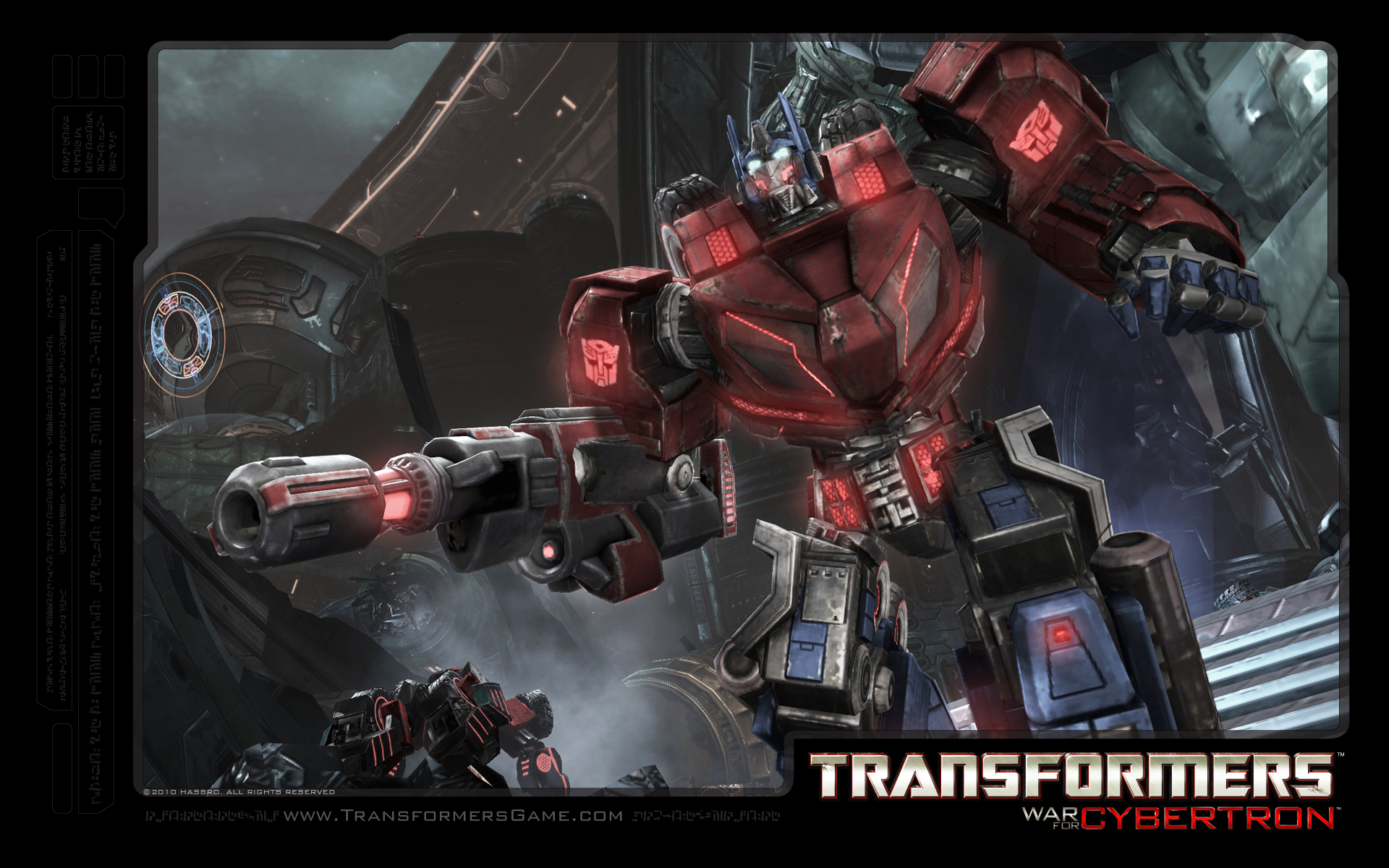 Арт к игре Transformers: War for Cybertron