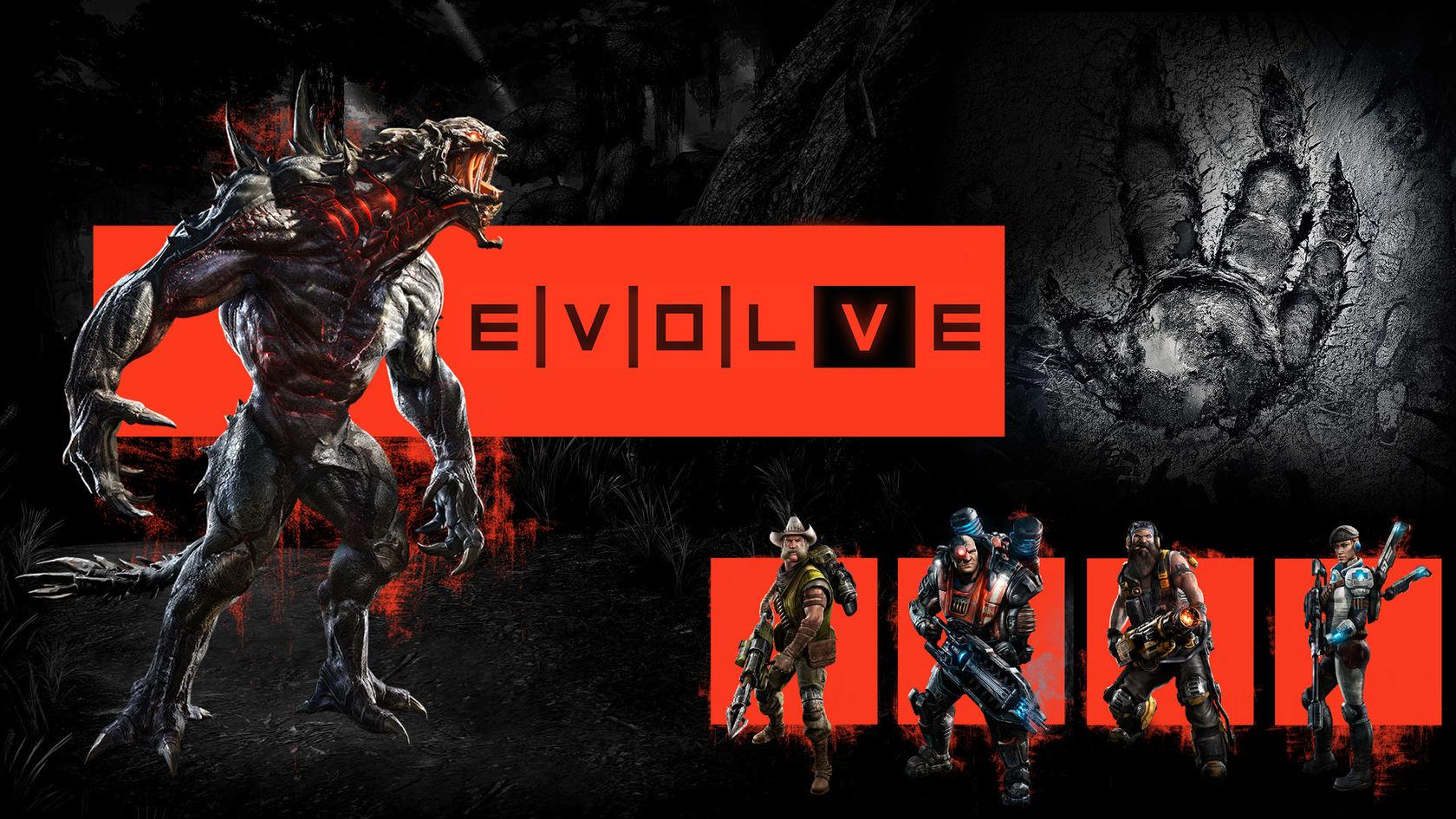 Арт к игре Evolve