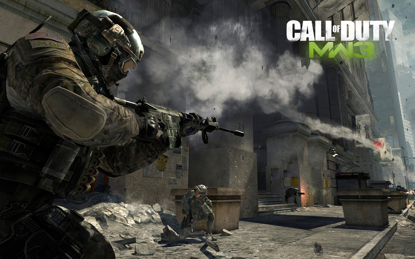 Арт к игре Call of Duty: Modern Warfare 3