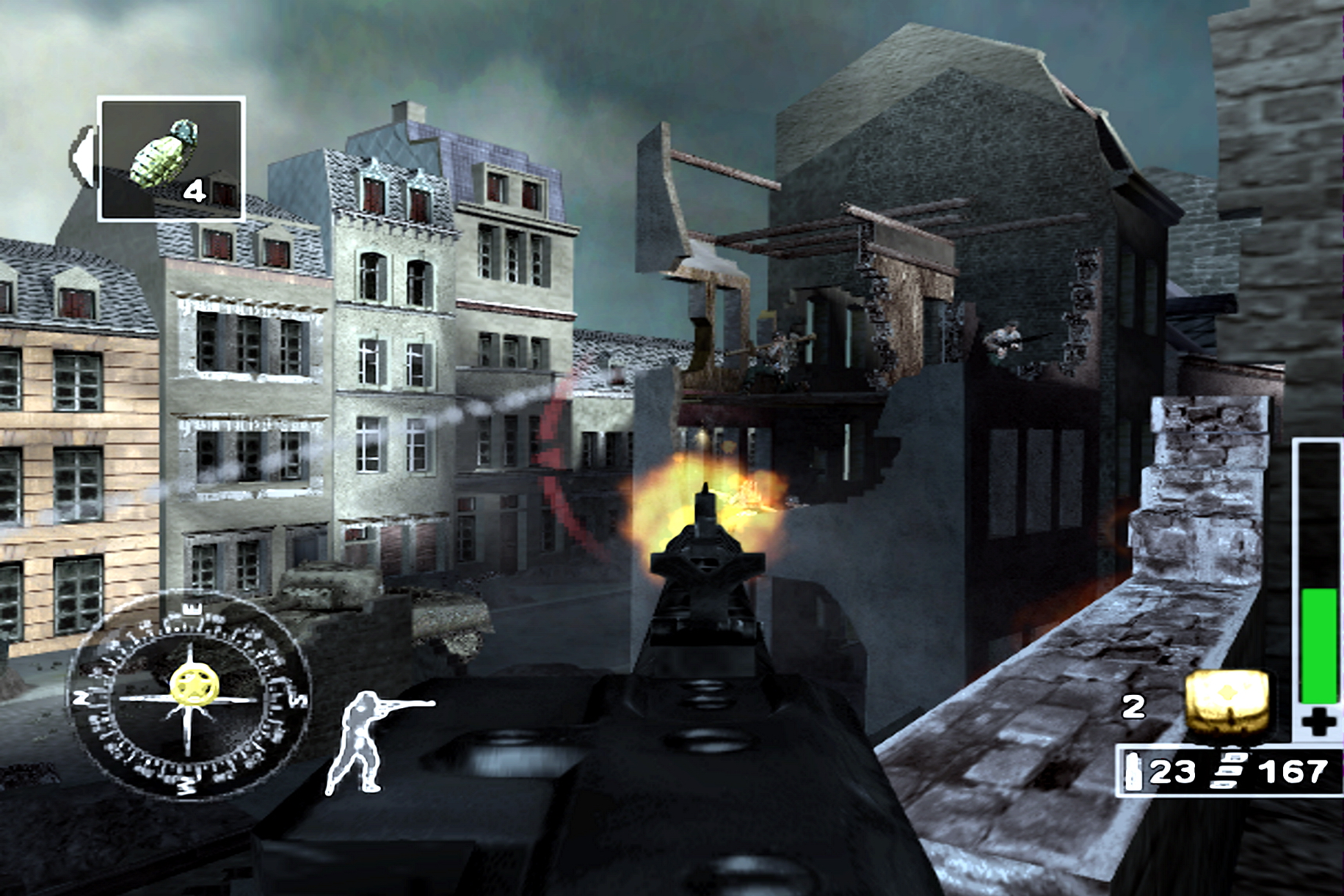 Арт к игре Call of Duty: Finest Hour