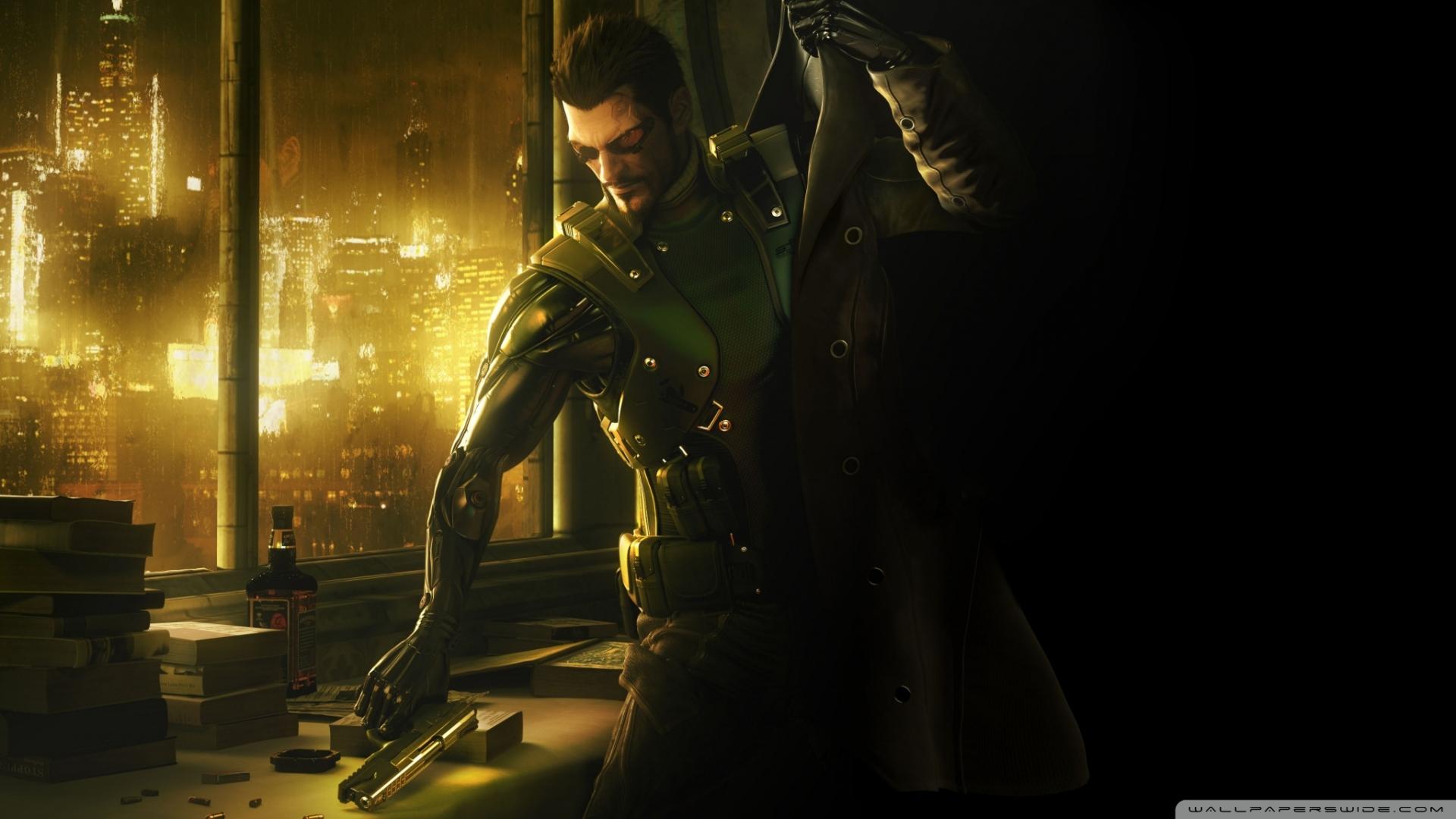 Арт к игре Deus Ex: Human Revolution