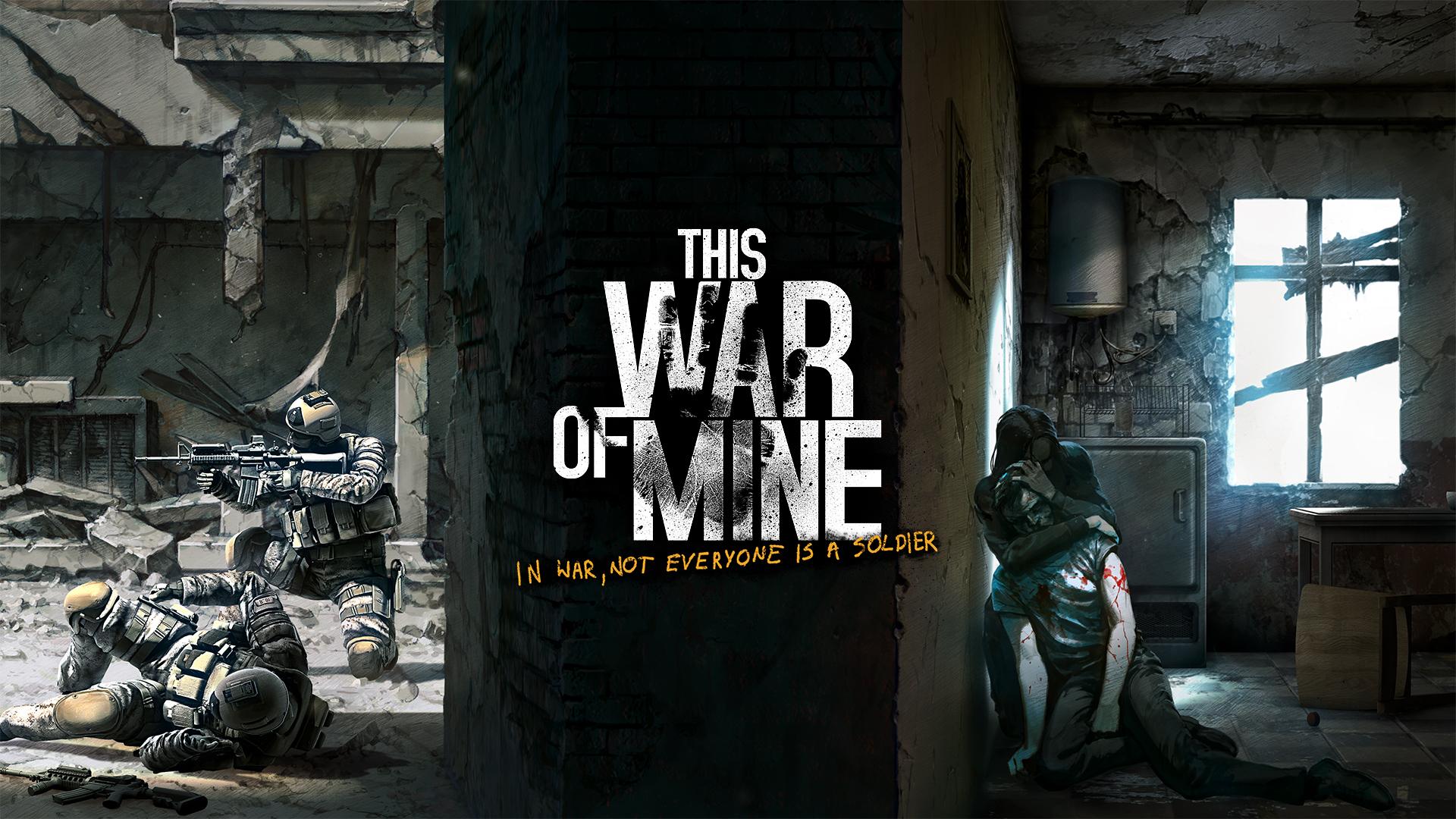 Арт к игре This War of Mine