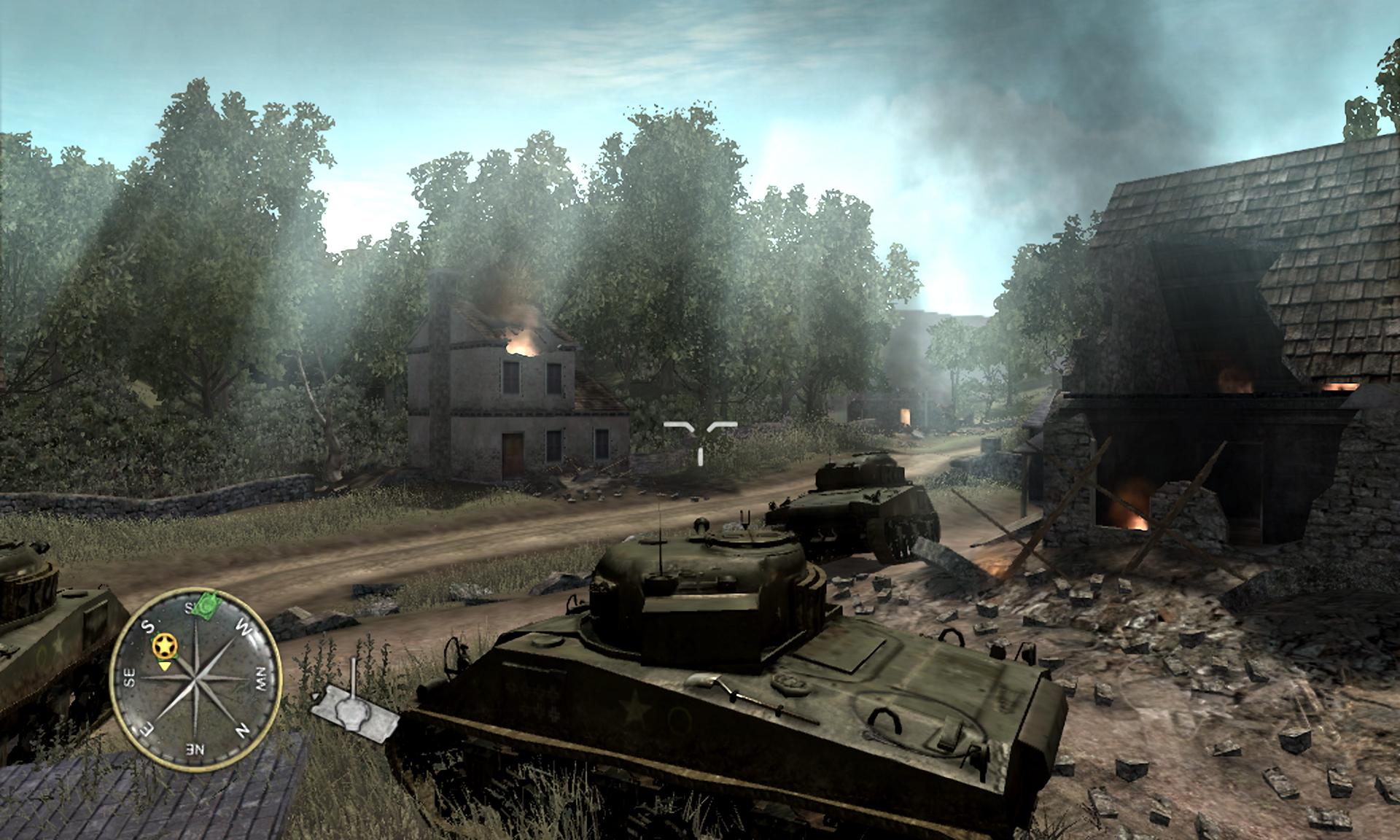 Арт к игре Call of Duty 3
