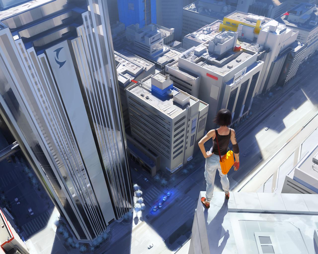 Арт к игре Mirror's Edge