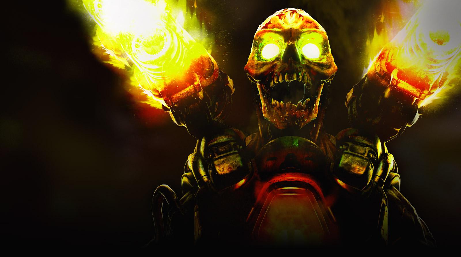 Арт к игре DOOM 2016