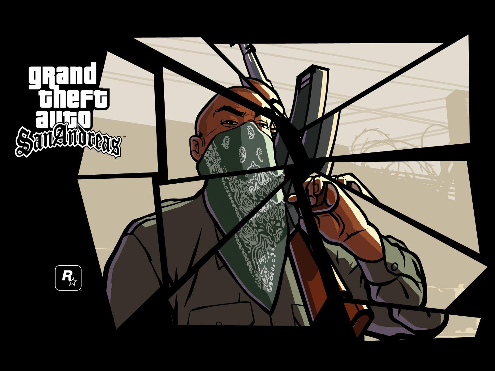 Арт к игре Grand Theft Auto: San Andreas