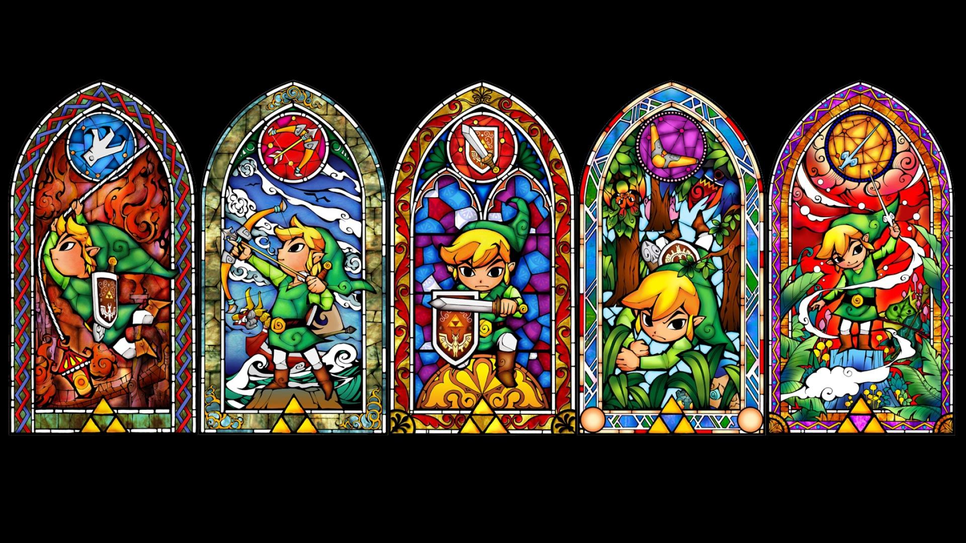 Арт к игре The Legend of Zelda: The Wind Waker