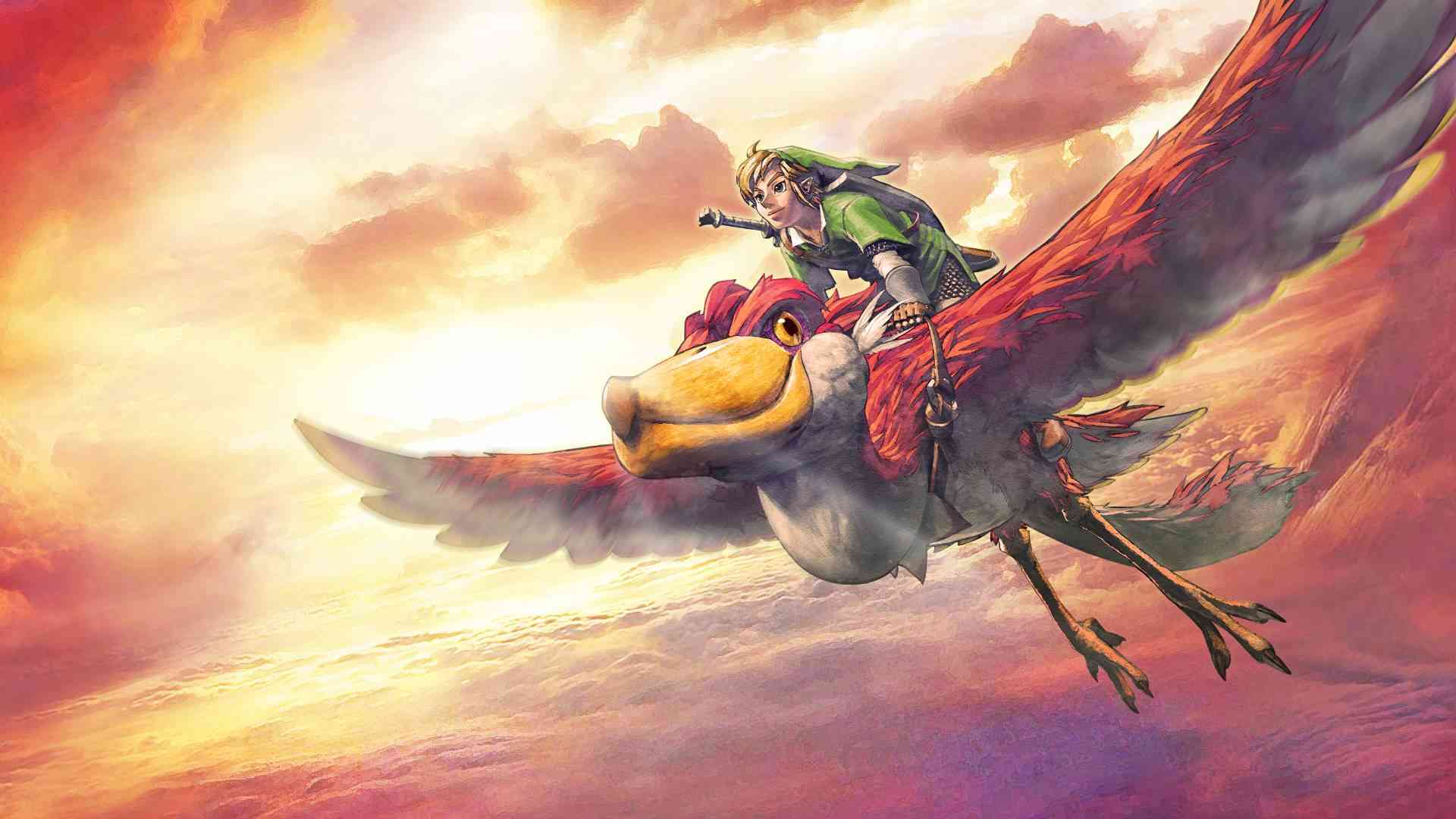 Арт к игре The Legend of Zelda: Skyward Sword