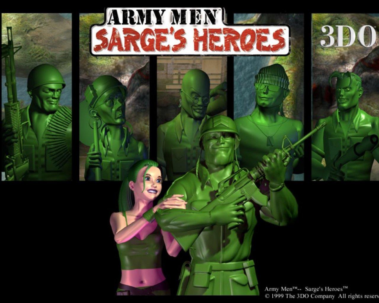 Арт к игре Army Men: Sarge's Heroes