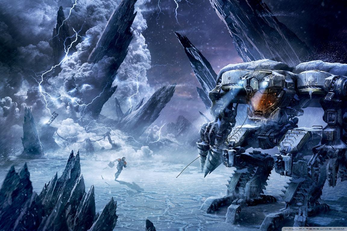 Арт к игре Lost Planet 3